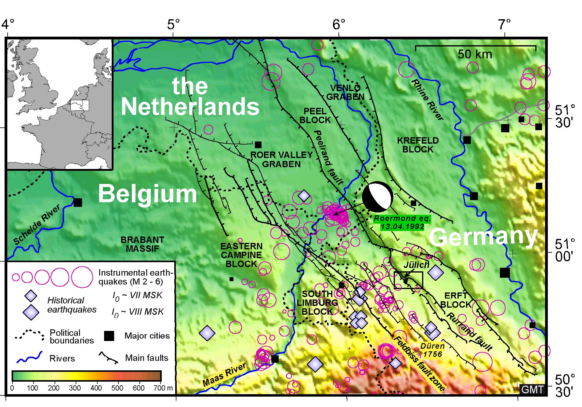 earthquake in belgium and the netherlands